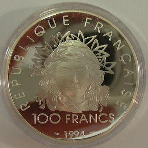 Photo numismatique Monnaies Françaises Monnaies commémoratives Gadoury C92. Discobole