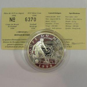 Photo numismatique Monnaies Françaises Monnaies commémoratives Gadoury C168. Uruguay