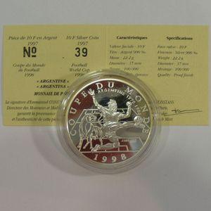 Photo numismatique Monnaies Françaises Monnaies commémoratives Gadoury C173. Argentine