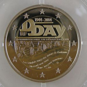 Photo numismatique Monnaies Euros France 2 Euro 2014