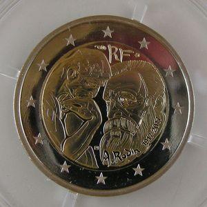 Photo numismatique Monnaies Euros France 2 Euro 2017