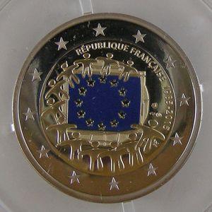 Photo numismatique Monnaies Euros France 2 Euro 2015