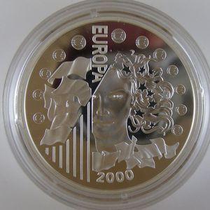 Photo numismatique Monnaies Françaises Monnaies commémoratives Gadoury C285. Europarité 2001