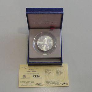 Photo numismatique Monnaies Françaises Monnaies commémoratives Gadoury C248. Doublé 1998-2000