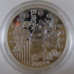 Photo numismatique Monnaies Françaises Monnaies commémoratives Gadoury C298. Europarité 2000