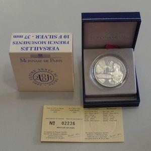 Photo numismatique Monnaies Françaises Monnaies commémoratives Gadoury C307. Versailles