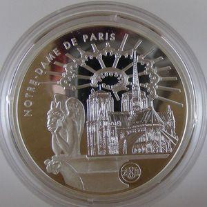 Photo numismatique Monnaies Françaises Monnaies commémoratives Gadoury C303. Notre Dame de Paris