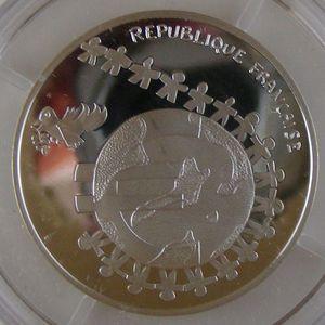 Photo numismatique Monnaies Euros France 1/4 Euro 2002