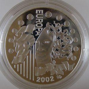 Photo numismatique Monnaies Euros France 1.5 Euro 2002