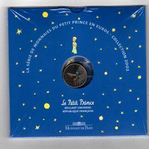 Photo numismatique Monnaies Euros France BU 2002 Petit Prince