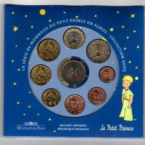 Photo numismatique Monnaies Euros France BU 2003 Petit Prince