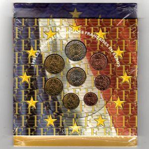 Photo numismatique Monnaies Euros France BU 1999
