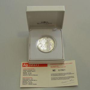 Photo numismatique Monnaies Françaises Monnaies commémoratives Gadoury C250. Yves Saint Laurent