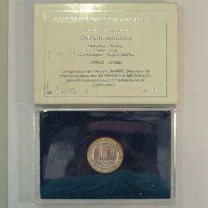 Photo numismatique Monnaies Françaises 10 Francs Gadoury 820. Hugues Capet