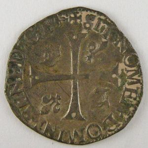Photo numismatique Monnaies Royales Françaises CHARLES IX (1560-1574) Douzain 2ème Type