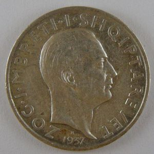 Photo numismatique Monnaies Etrangères Albanie 1 Frang