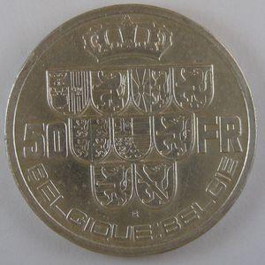 Photo numismatique Monnaies Etrangères Belgique Léopold III (1934-1951)
