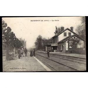 91 - MENNECY (Seine-et-Oise) - La Gare (Essone)
