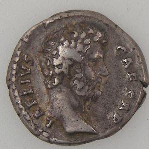 AELIUS, Denier, R/ CONCORD // TR POT COS III, TB+