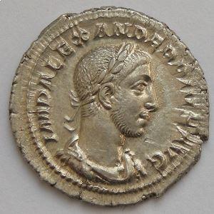 Alexandre Sévère, Alexander Severus, Denier, IOVI PROPVGNATORI, SUP/SUP+