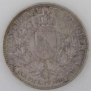Allemagne, Baden, 1 Thaler 1829, SUP, KM#193