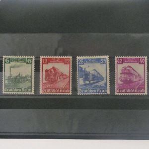 Allemagne, 3ème Reich 1933-1945, N° 539-542, N** Cote 135€