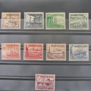 Allemagne, 3ème Reich 1933-1945, N° 594-602, N** Cote 110€