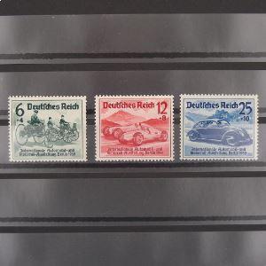 Allemagne, 3ème Reich 1933-1945, N° 627 à 629, N** Cote 110€