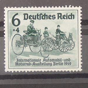 Allemagne, 3ème Reich 1933-1945, N° 627, N** Cote 30€