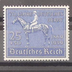 Allemagne, 3ème Reich 1933-1945, N° 637, N** Cote 90€
