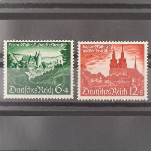 Allemagne, 3ème Reich 1933-1945, N° 673-674,  N** Cote 12€