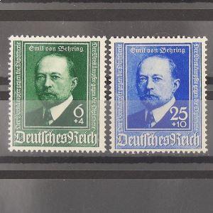 Allemagne, 3ème Reich 1933-1945, N° 684-685, N** Cote 15€