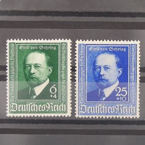 Allemagne , 3ème Reich 1933-1945, N° 684-685, N** Cote 15€