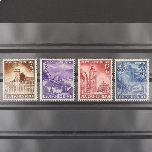 Allemagne, 3ème Reich 1933-1945, N° 730-733, N** Cote 20€