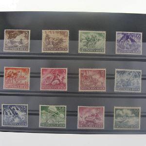 Allemagne , 3ème Reich 1933-1945, N° 748-759, N** Cote 22.50€