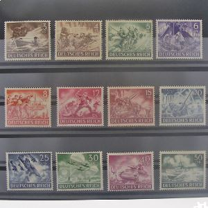 Allemagne, 3ème Reich 1933-1945 , N° 748-759, N** Cote 22.50€