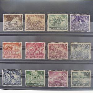 Allemagne, 3ème Reich 1933-1945, N° 748-759, N** Cote 22.50 €