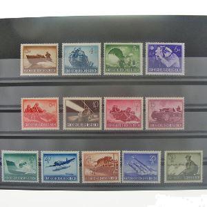 Allemagne, 3ème Reich 1933-1945, N° 791-803, N** Cote 22.50€