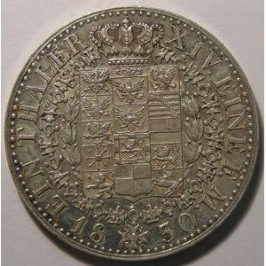 Allemagne, Germany, Preussen, Thaler 1830 A, TTB+, AKS# 17