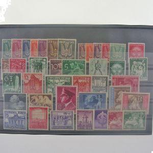 Allemagne, Lot de timbres, N** Cote +150€