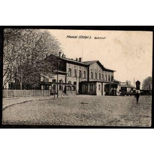ALLEMAGNE - MEMEL (Ostpr.) - Bahnhof - La Gare