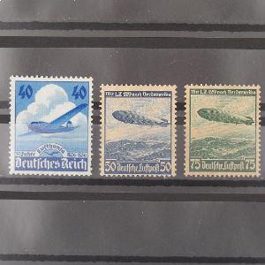 Allemagne, Poste Aérienne, N° 54-56 , N** Cote 107.50€