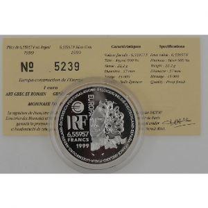 Art Grec et Romain, 6.55957 Francs 1999, BE, KM# 1246