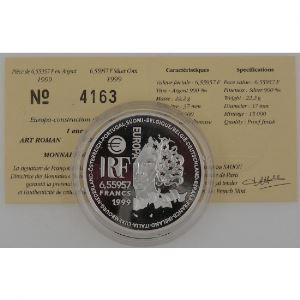 Art Roman, 6.55957 Francs 1999, BE, KM# 1245