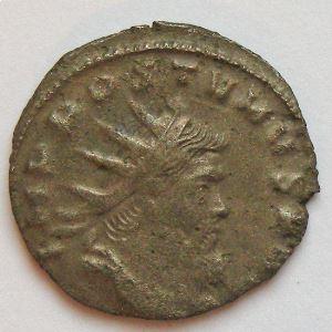 AUREOLE, AUREOLUS, Antoninien, FIDES EQVIT, TTB