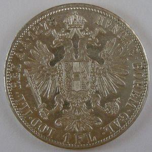 Austria, 1 Florin 1878, KM# 2222,  SUP