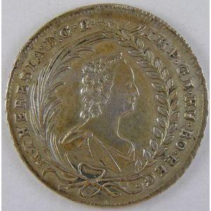 Austria, 20 Kreuzer 1764, TTB+, KM# 1813