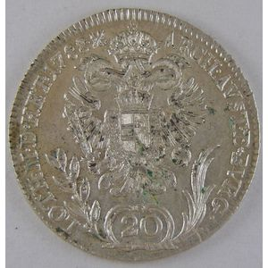 Austria, 20 Kreuzer 1788 B, TTB+, KM# 2069