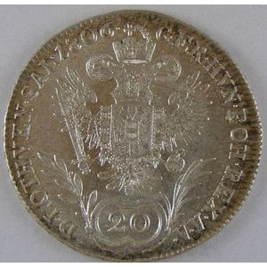 Austria, 20 Kreuzer 1806 A, SPL, KM# 2140