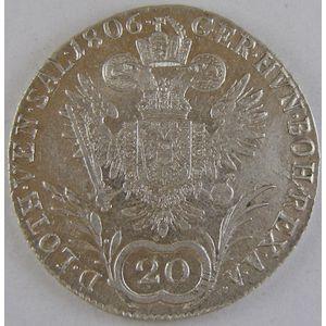 Austria, 20 Kreuzer 1806 C, SUP, KM# 2140